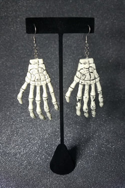 Skele Hand Ornaments of Bones Earring Set