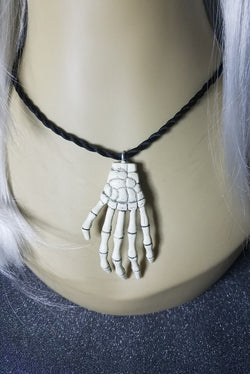 Skele Hand Ornaments of Bones Solo Necklace
