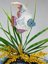 White Something Fishy Fascinator Headband