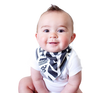 Image of Set of 4 Bandana Baby Bibs