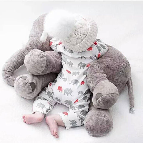Cute Elephant Plush Pillow