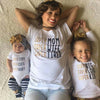 Image of Super Mom and Baby Matching T-shirt