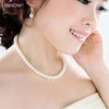 Image of Simulated Pearl Necklace