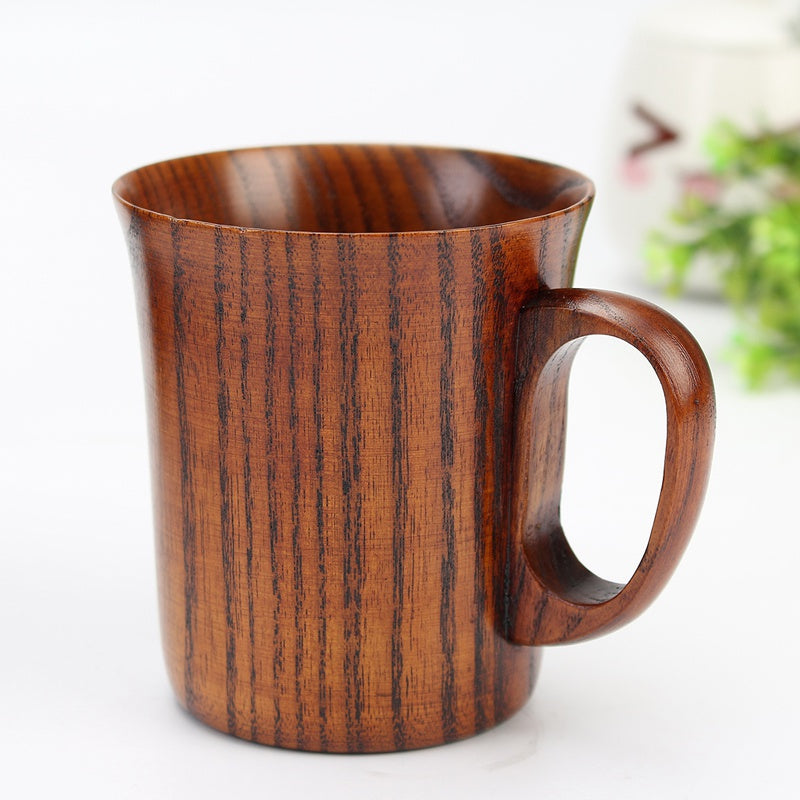 Handmade Wooden Coffee Cup