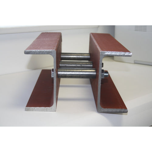 180 x 75 x 20 PFC Twined Beam Prefabricated Close Bolted to form 275mm 300mm Overall Cavity-tgoodsteelbeams-tgoodsteelbeams