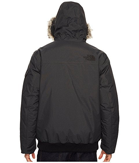Men's The North Face Gotham III Hooded Water Resistant 550-Fill-Power Down Jacket with Faux Fur Trim