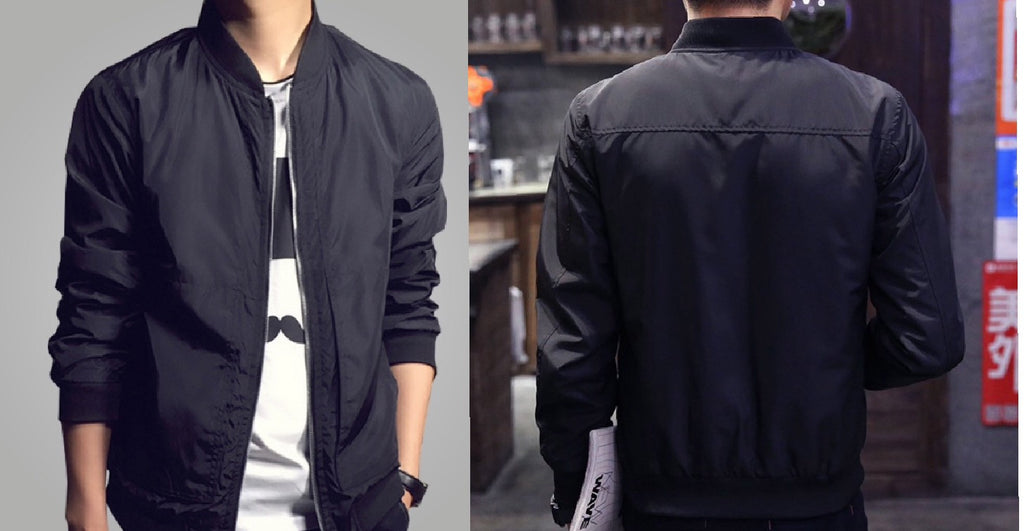"Men's ""Cool, Ultra."" Lightweight Bomber Jacket (Multiple Colors Available)"