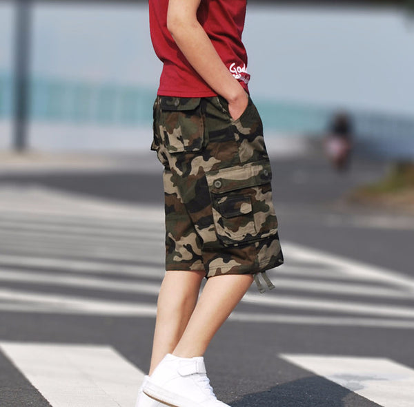 Men's Boardrun Camouflage Cargo Shorts (Multiple Colors Available)