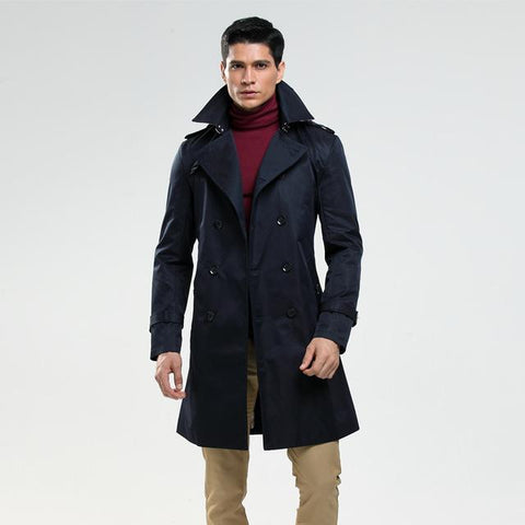 Men's Hemisphere Trench Coat (Multiple Colors Available)
