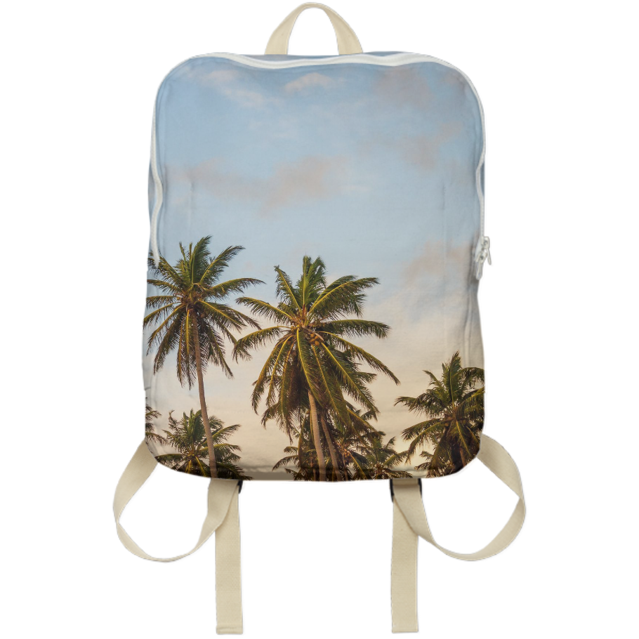 Palm Trees Sunshine Vibes Collection Backpack (Zoom Out) Availble ONLY on Mall Good Vibes!
