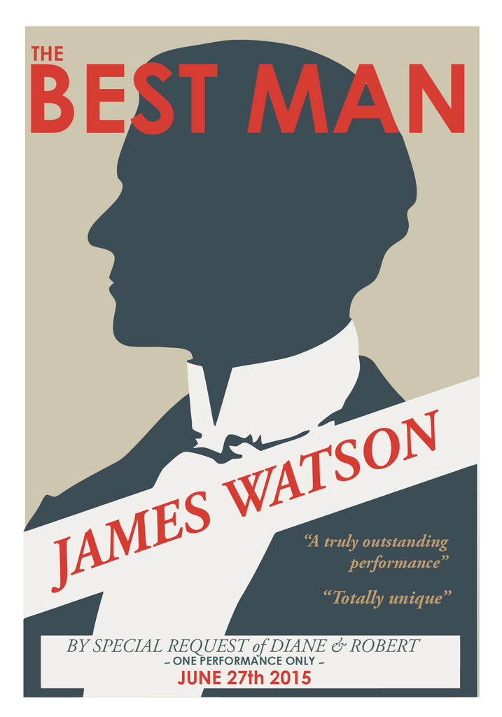 will you be my best man wedding invitation print your secret gift