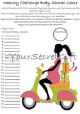 'Guess & Remember Baby' Items 10/15/20 Sheets - Memory Challenge Baby Shower Game