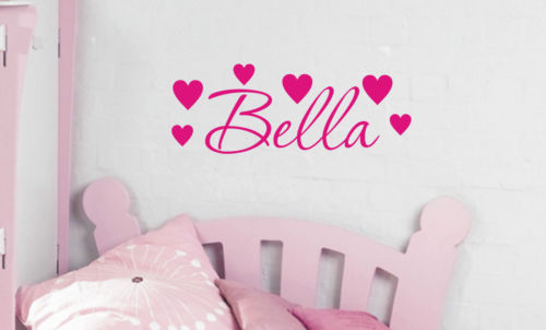 Personalised Heart Wall Sticker - Wall Art Decals Sticker