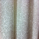White and Silver Mix Chunky Glitter Wallpaper Covering Bling Grade 3 (SOLD BY THE METRE)