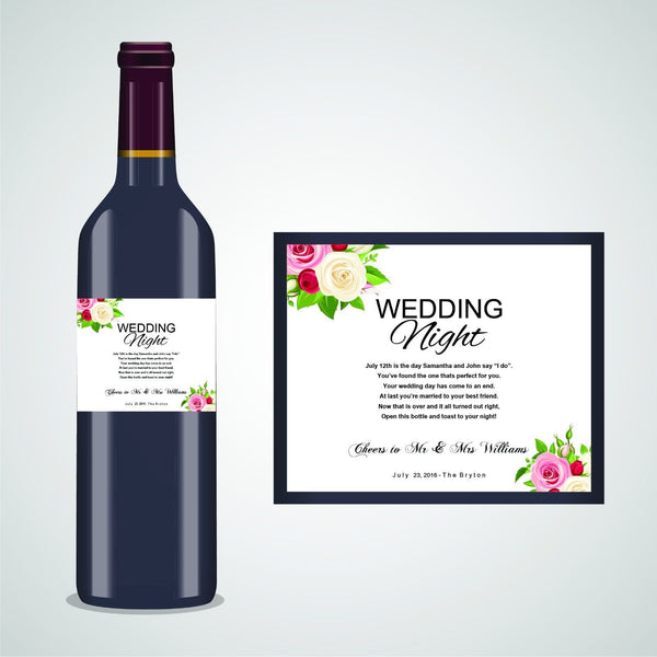 PERSONALISED WEDDING ANNIVERSARY CHRISTMAS BABY FIGHT WINE LABEL, SPIRIT, BEER