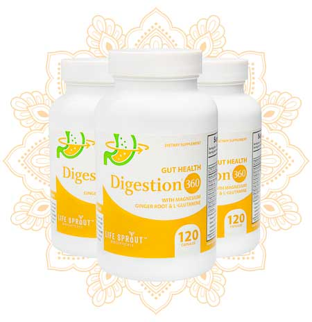 Digestion 360 - Digestion and Gut Health - New Improved Formula