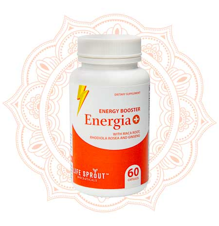 Energia + Natural Energy boosting Supplement
