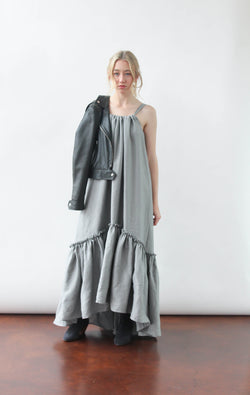 Ellie Dress in Stormcloud Grey