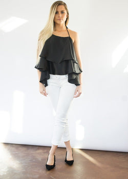 <h1>Maggie Top in Black</h1>