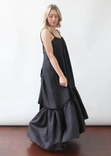 Ellie Dress in Night Black