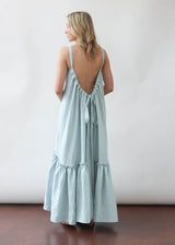 Ellie Dress in Sky Blue
