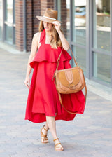 Silk Ruby Dress - Shop Elizabeth