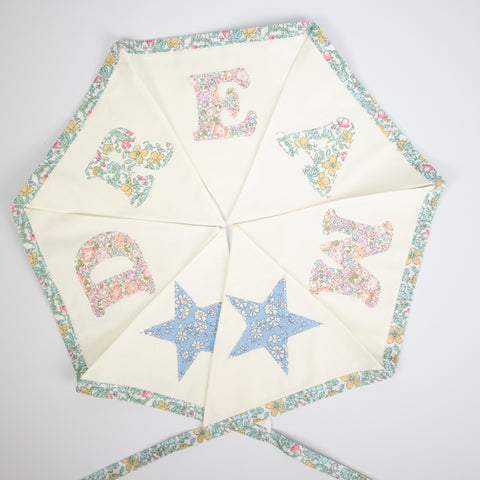 Dream multi print bunting