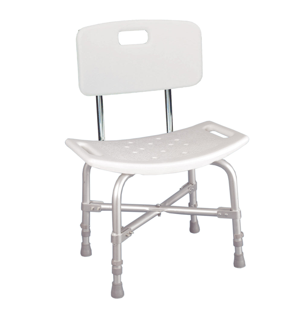 Bariatric Heavy Duty Shower Chair with Backrest - Reliable Medical ...