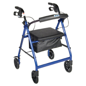 Aluminum 4-Wheel Rollator Rental - Adult Size