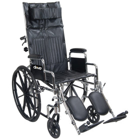 Chrome Sport Hi Back Reclining Wheelchair