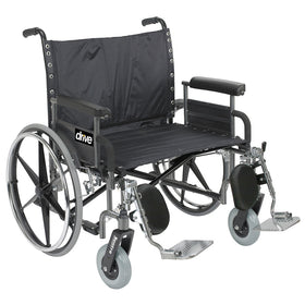 Extra Wide Manual Wheelchair Rental - 28in Wide