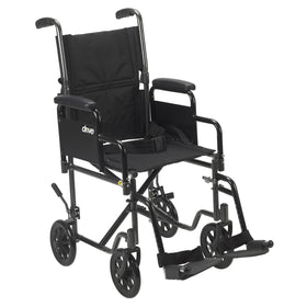 Lightweight Transport Wheelchair Rental - 19in Wide