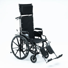 Hi Back Reclining Wheelchair Rental - 18in Wide