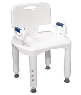 Standard Shower Chair with Back (Gray)