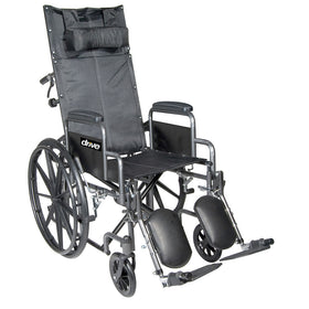 Silver Sport Hi Back Reclining Wheelchair