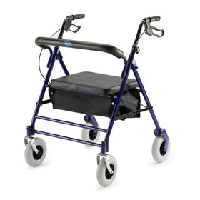 Aluminum 4-Wheel Rollator Rental - Extra Wide Size