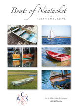 """Boats of Nantucket"" Note Card Set"