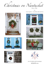 """Christmas on Nantucket"" Card Set: Series One"