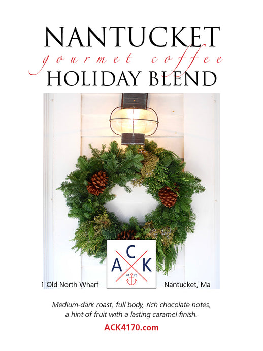 Nantucket Holiday Blend Gourmet Coffee