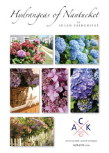 """Hydrangeas of Nantucket"" Note Card Set"