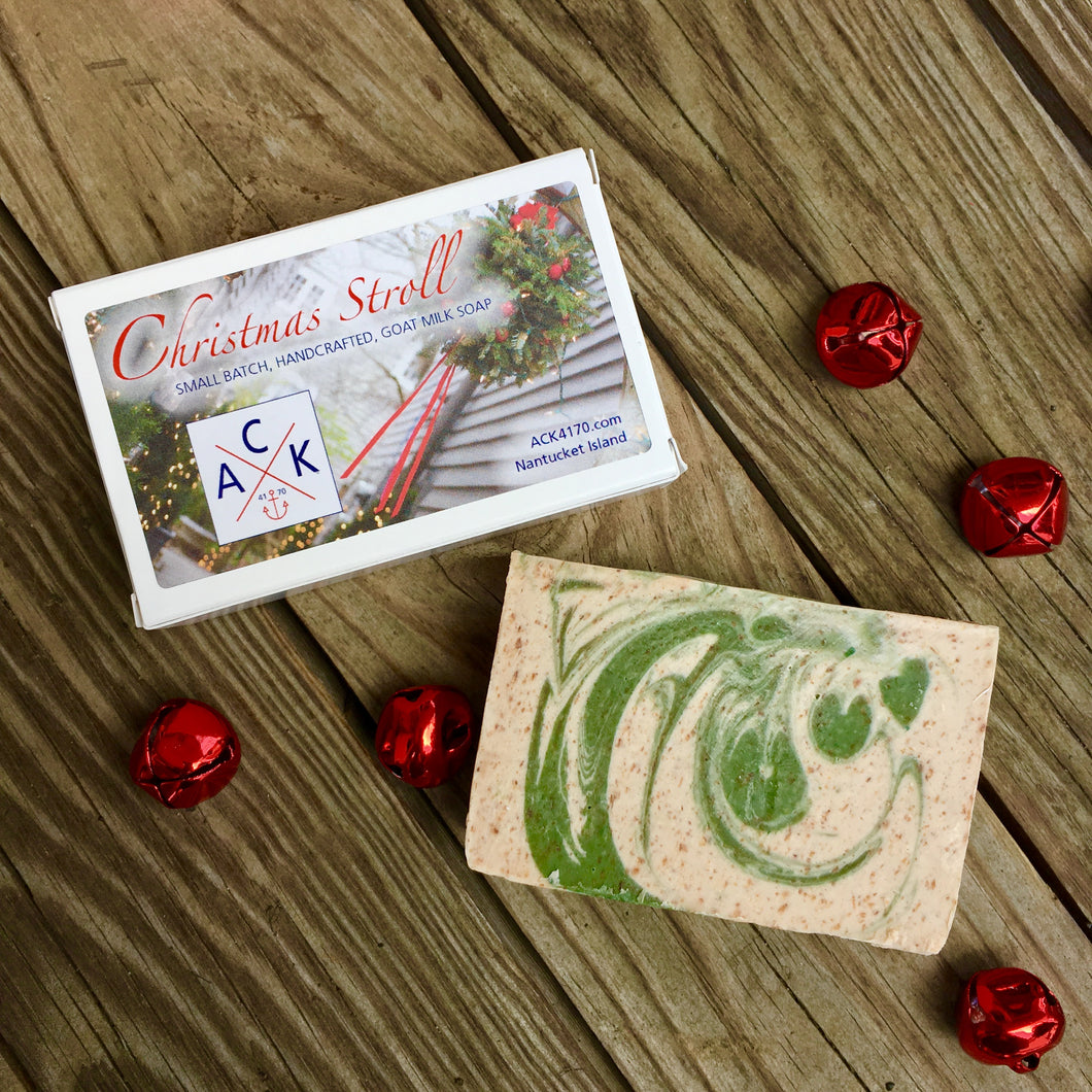Christmas Stroll Goat Milk Soap