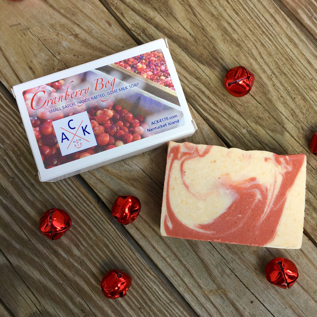 Cranberry Bog Goat Milk Soap