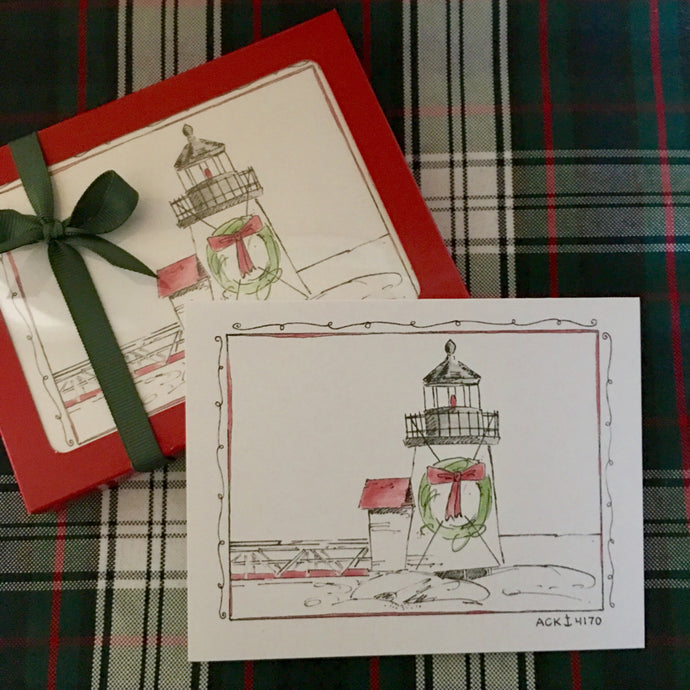 Brant Point Christmas Card Set