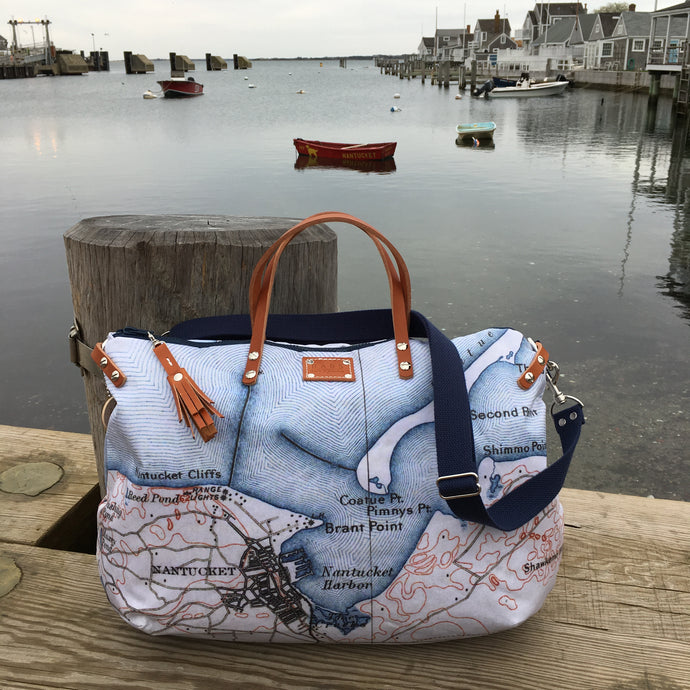Nantucket Map Overnighter