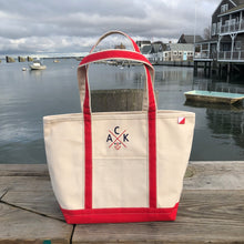 ACK 4170™ Medium Canvas Tote Red