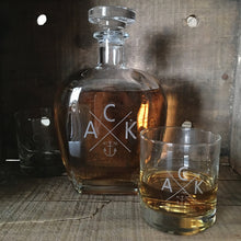 ACK 4170™ Etched Whiskey Decanter