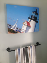 """Rounding Brant Point"" Canvas Art Print"