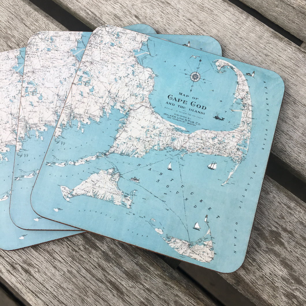 Cape Cod & The Islands Coaster Set