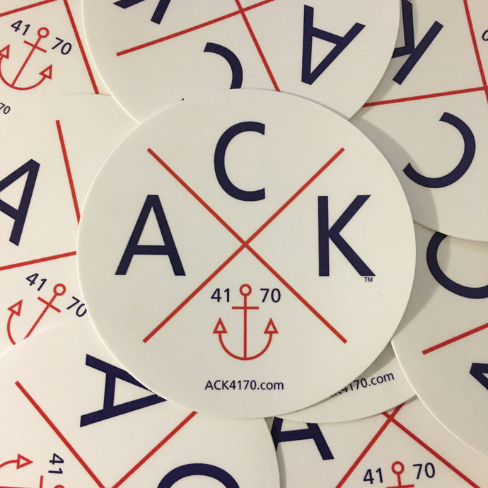 ACK 4170™ Vehicle Decal