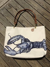 Blue Lobster Tote